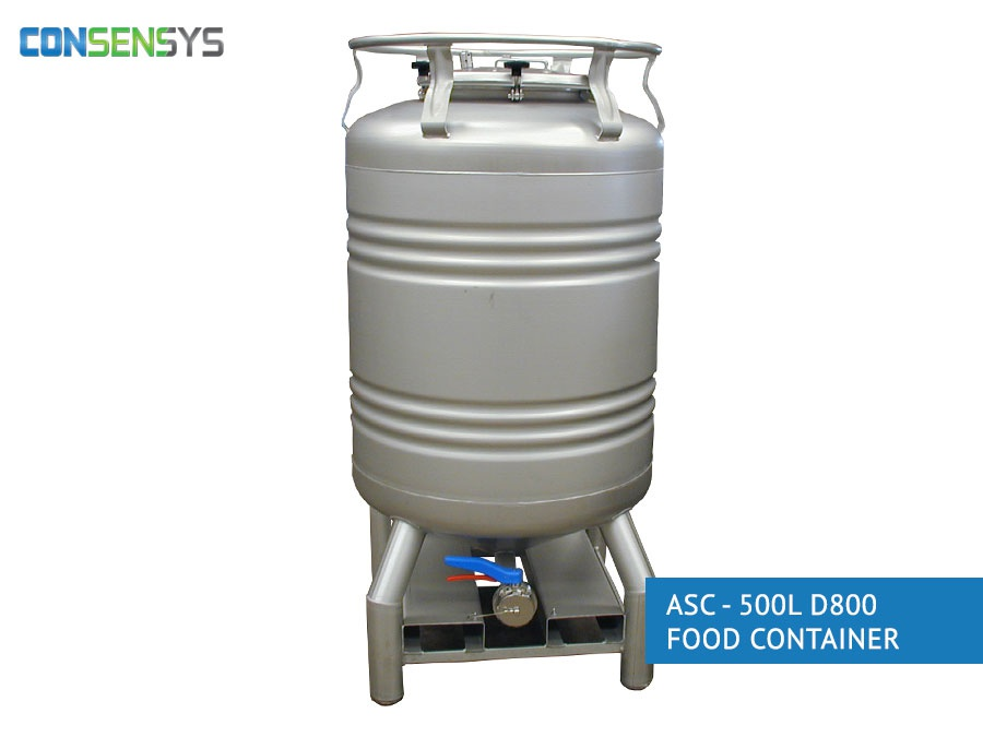 asc - 500l d800 food container