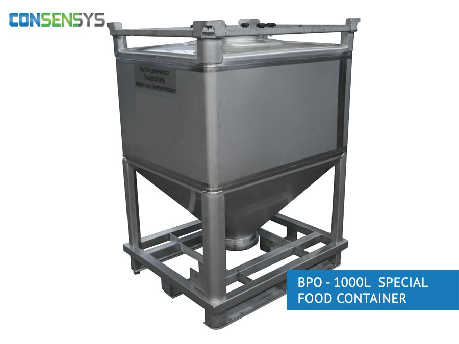 BPO 1000l special food container
