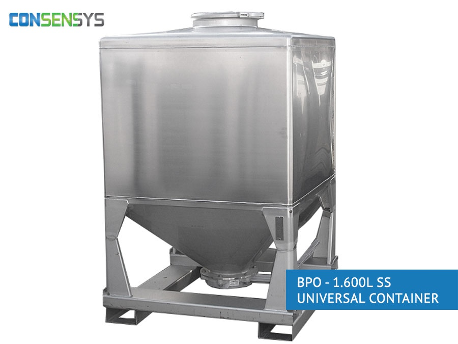 bpo 1600l ss universal container