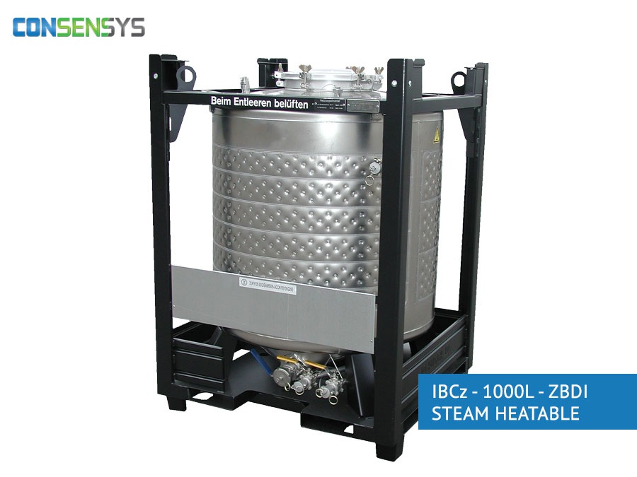 IBCz - 1.000L - ZBDI STEAM HEATABLE