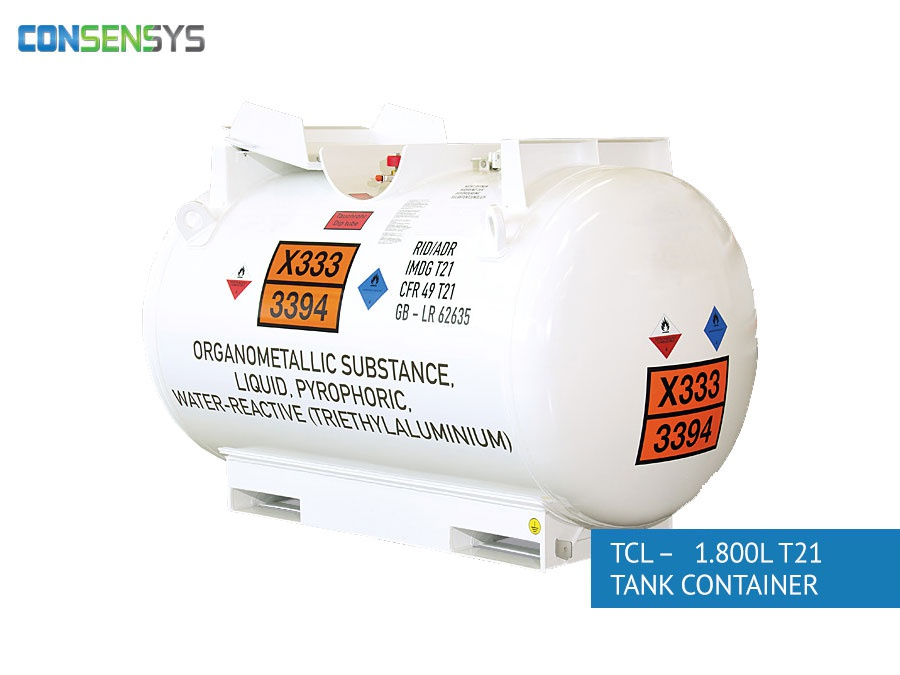 TCL - 1.800L T21 tank container