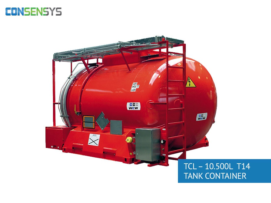 TCL - 10.500L T14 tank container