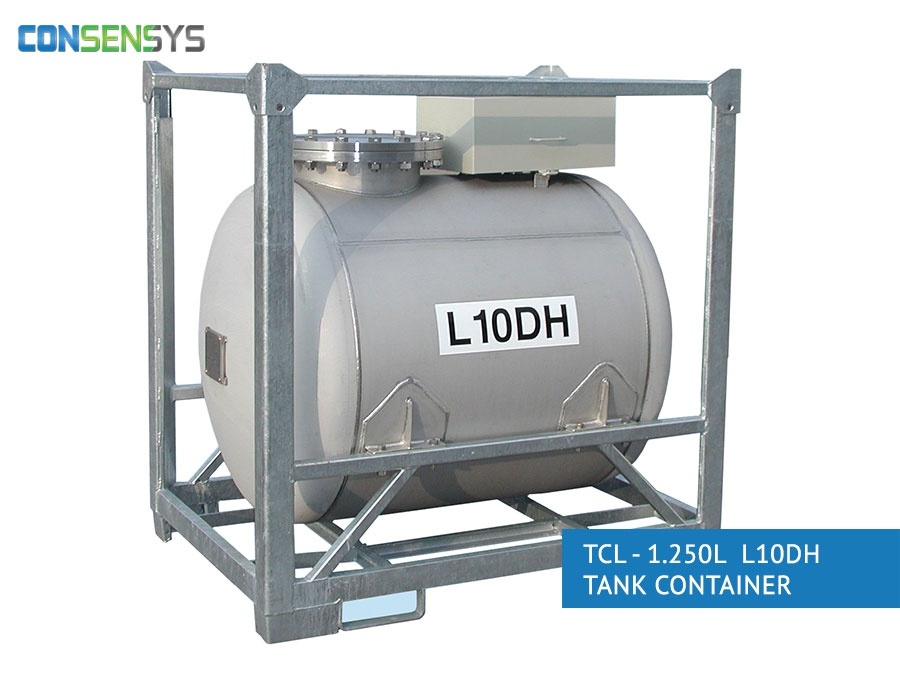 TCL - 1.250L L10DH Tank Container
