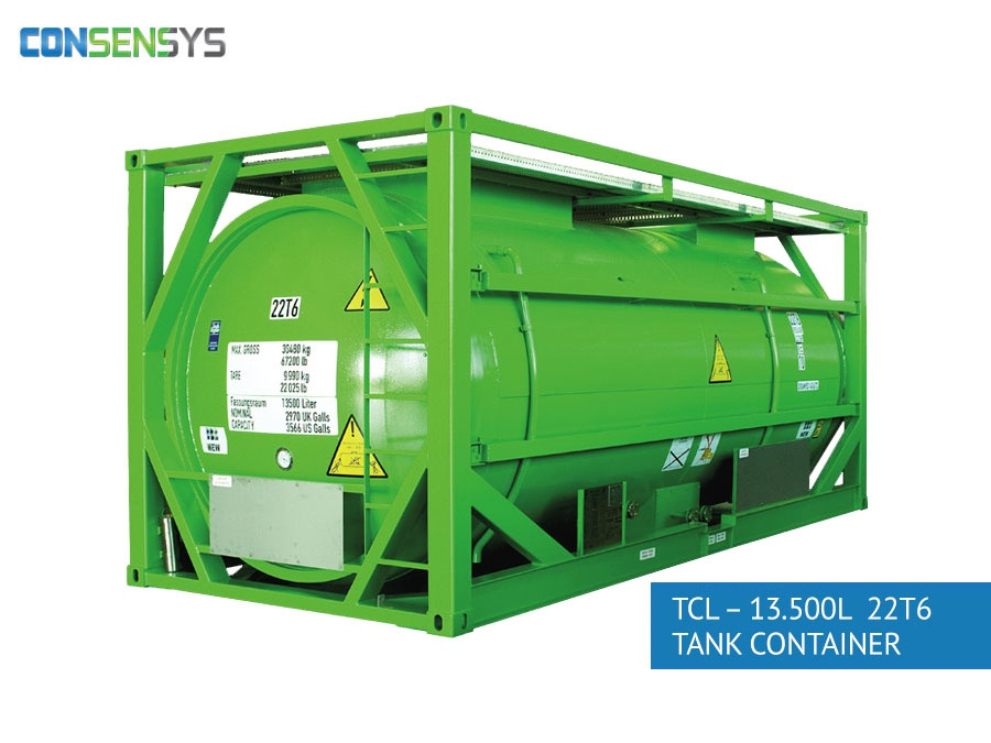 TCL - 13.500L 22T6 tank container