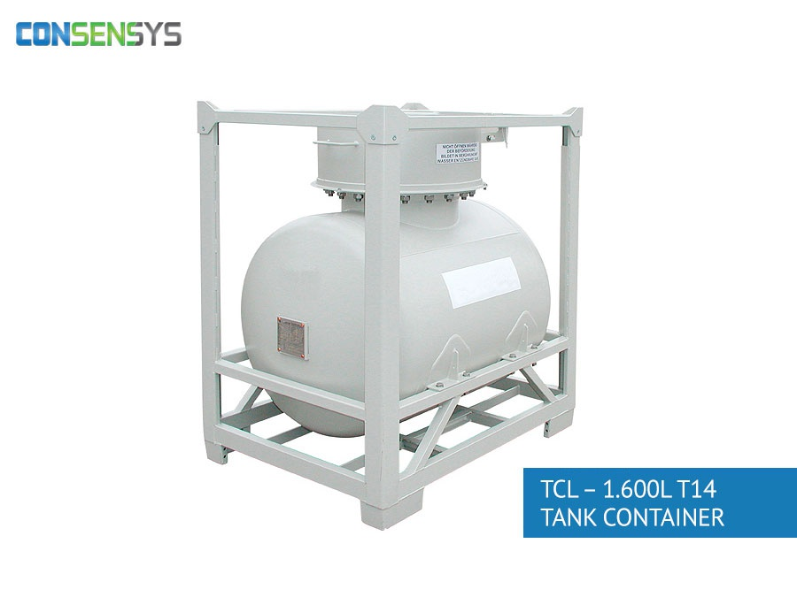 TCL - 1.600L T14 tank container