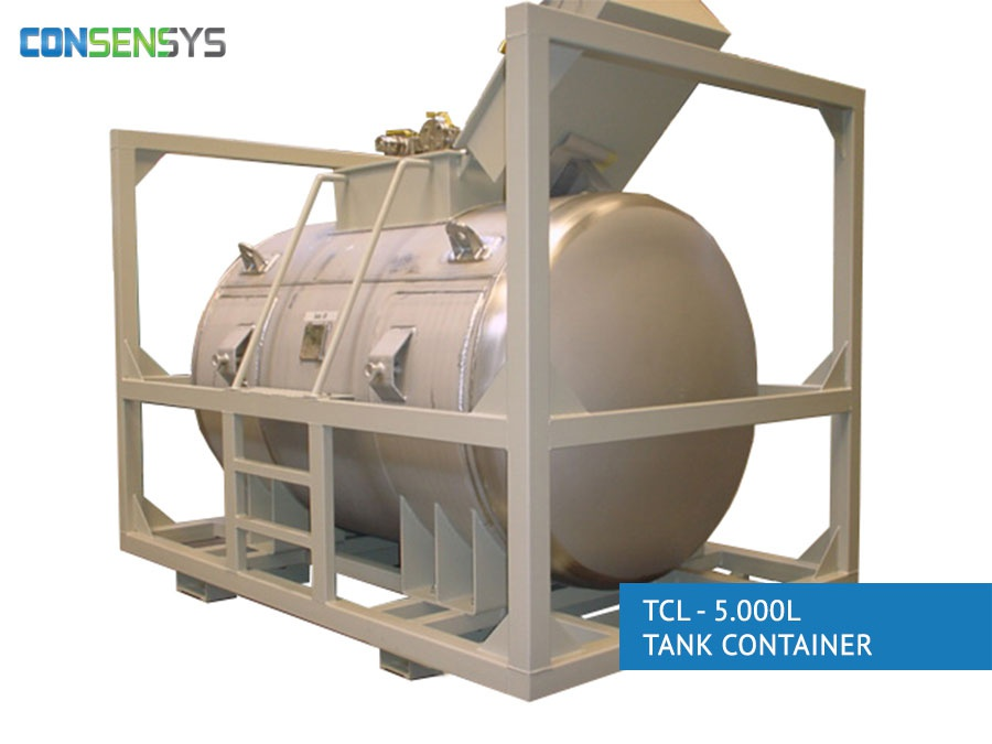 TCL - 5.000L tank container