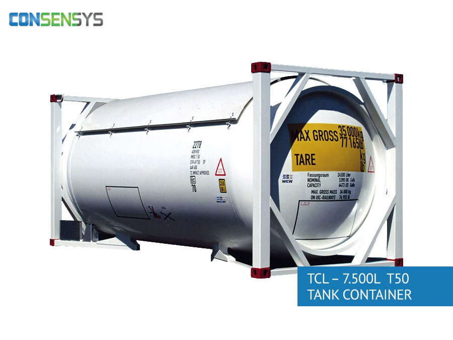 TCL - 7.500L T50 tank container