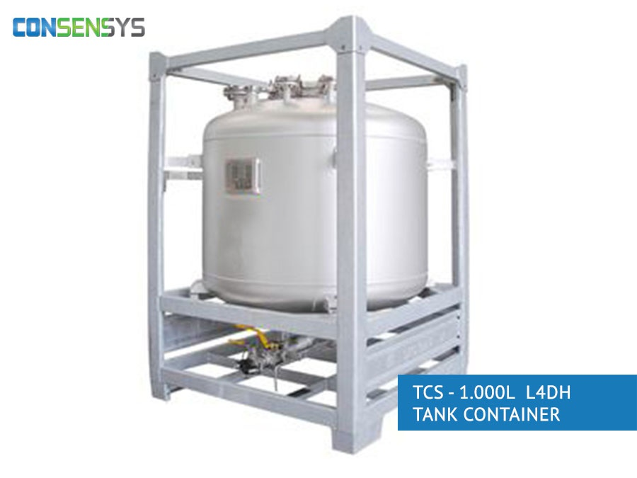 TCS - 1.000L L4DH tank container