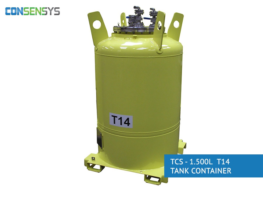 TCS - 1.500L T14 Tank Container