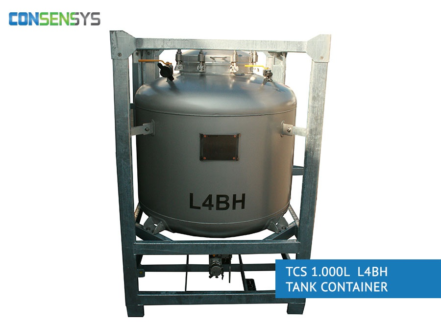 TCS 1.000L L4BH tank container