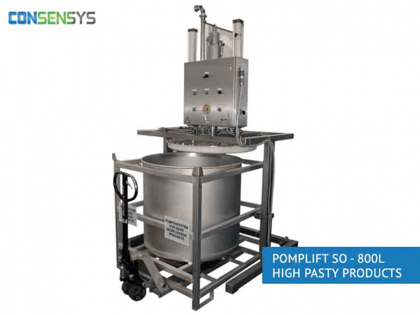 Pomplift SO - 800L High Pasty Products